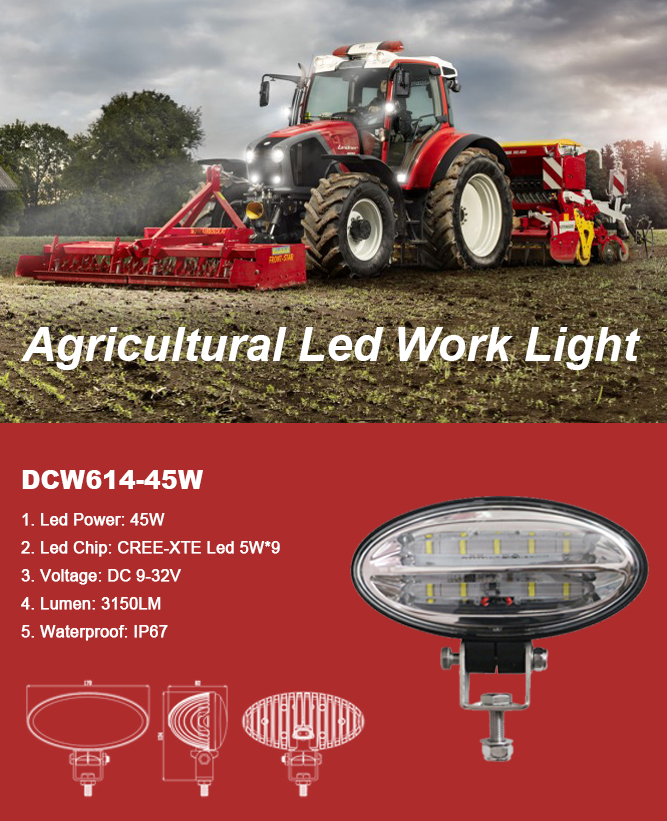 Agricultural Led Work Light