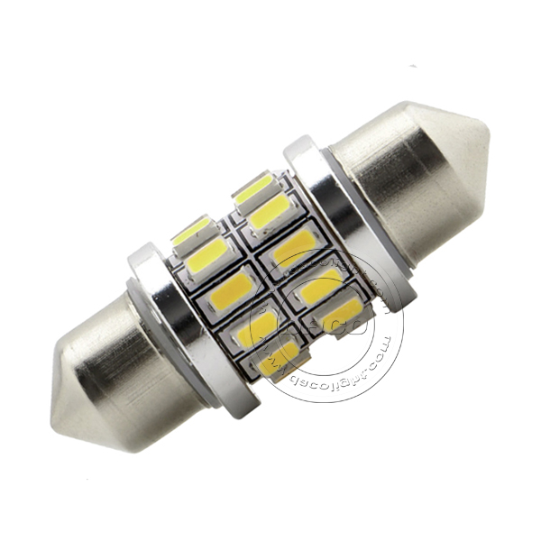 Canbus Festoon 3014 24 SMD 31mm 36mm 39mm 41mm