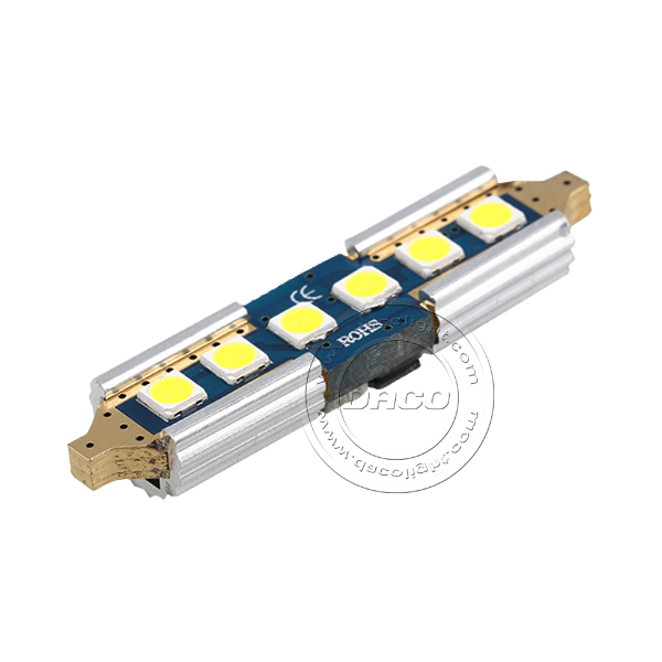 Canbus Festoon 3030 6 SMD 39mm 41mm